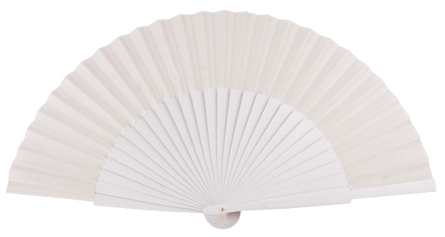 """Semi-pericon"" wooden fan 4144BLA"