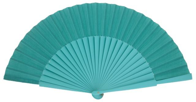 """""""Semi-pericon"""" wooden fan 4144ESM"""