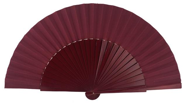 """Semi-pericon"" wooden fan 4144GRA"