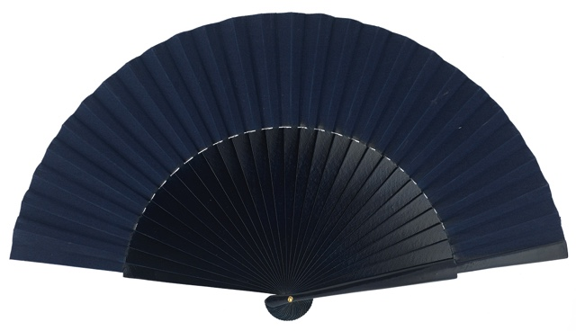 """Semi-pericon"" wooden fan 4144MAR"