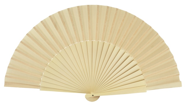 """Semi-pericon"" wooden fan 4144MFL"