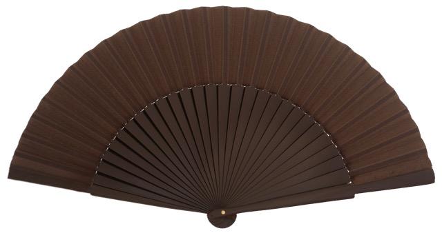 """""""Semi-pericon"""" wooden fan 4144MRR"""