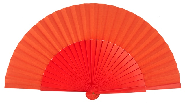 """Semi-pericon"" wooden fan 4144NAR"