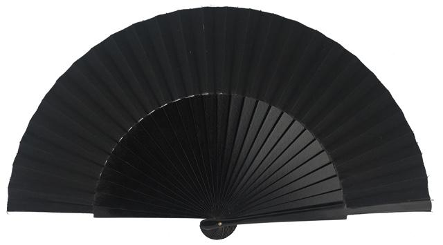 """""""Semi-pericon"""" wooden fan 4144NEG"""