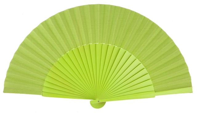 """""""Semi-pericon"""" wooden fan 4144PIS"""