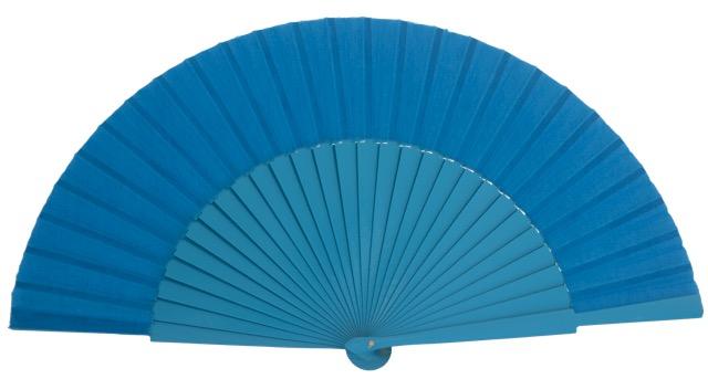 """""""Semi-pericon"""" wooden fan 4144TUR"""