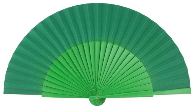 """""""Semi-pericon"""" wooden fan 4144VER"""