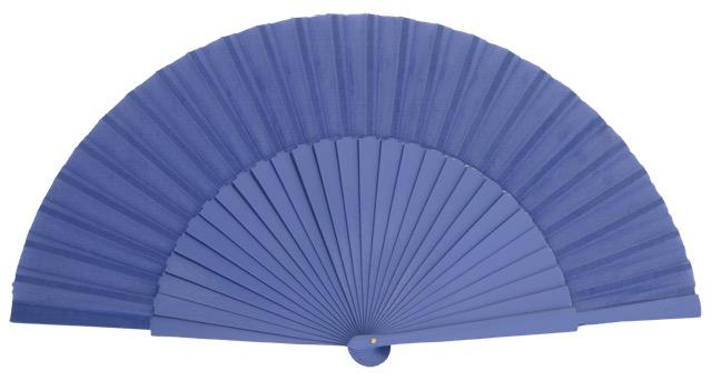 """""""Semi-pericon"""" wooden fan 4144VIO"""