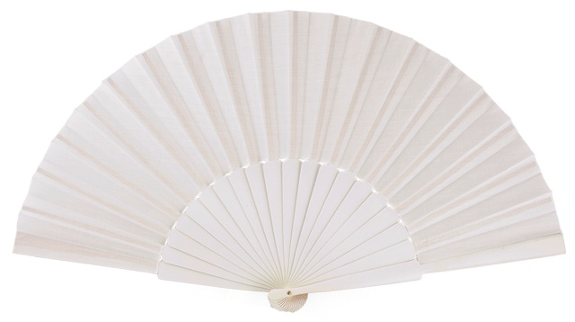 """pericon"" wooden fan 4145BLA"