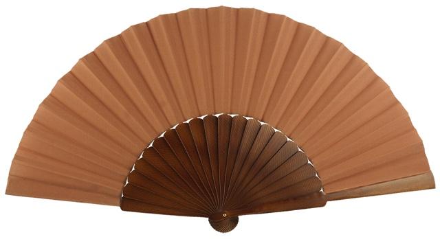 """""""pericon"""" wooden fan 4145NOG"""