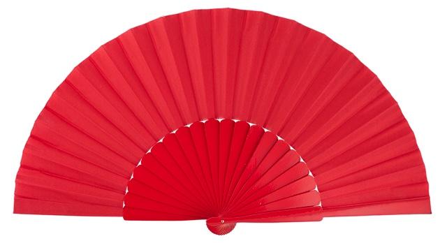 """""""pericon"""" wooden fan 4145ROJ"""