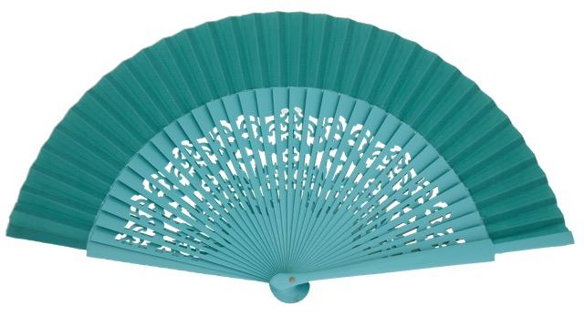 Wooden fan in colors 4319ESM