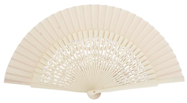 Wooden fan in colors 4319MFL