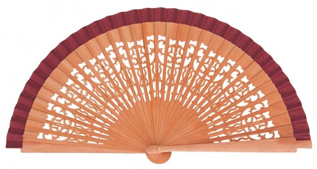 Pear wood fan 4321GRA