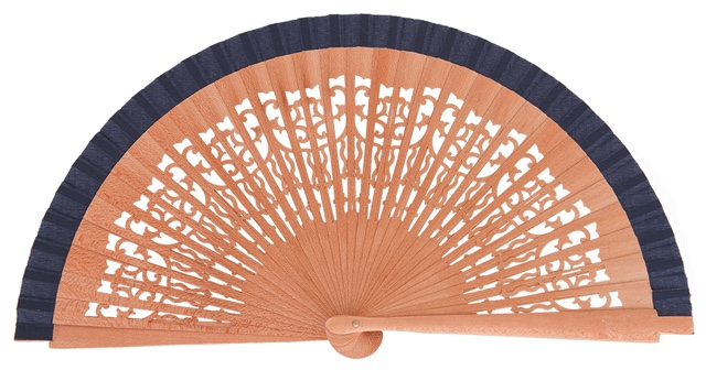 Pear wood fan 4321MAR