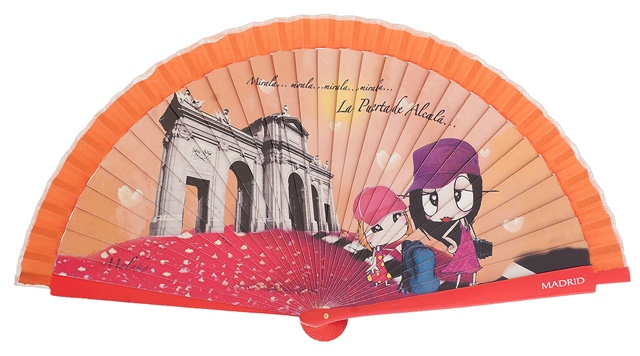 Wooden fan malaka collections 4417IMP