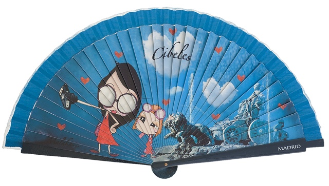 Wooden fan malaka collections 4419IMP