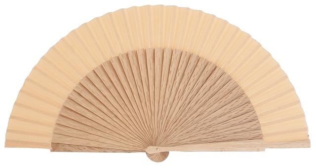 Oak wood fan 4424AVE