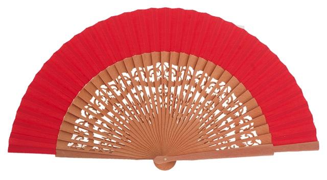 Pear wood fan 4462ROJ