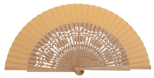 Oak wood fan 4463AVE