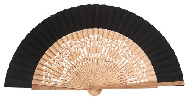 Oak wood fan 4463NEG