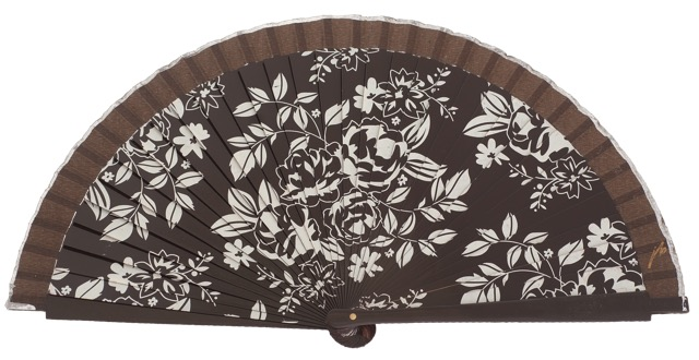 Fantasy wooden fan 4481MRR