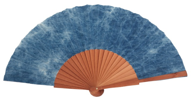 Denim pear wood fan 4553CEL