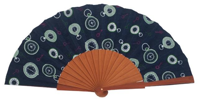 Denim pear wood fan 4558SUR