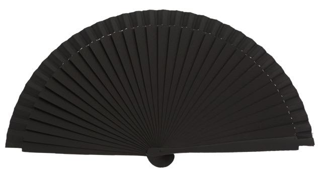 Birch wood fan 21 cm laser engraving 4568/1NEG